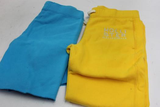Hollister Men's Sweatpants And Shorts, 2 Pieces