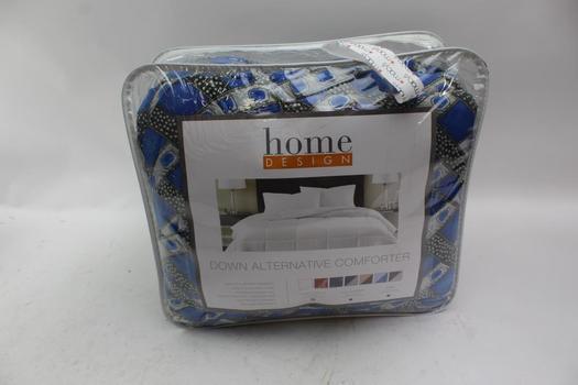 Home Design Down Alternative Comforter, Size Twin/XL
