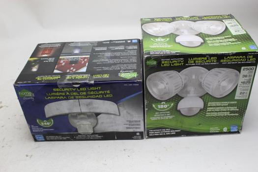 Home Zone LED Security Lights 2 Pieces