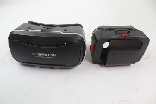 Homido & Vr Shinecon Vr Goggles; 2 Pieces
