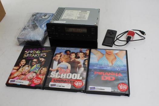 Honda Car Stereo, Dvd Movies, Aws Scale, Mp3 Player: 5+ Items