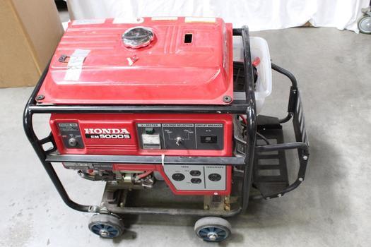 Honda Em5000s Generator