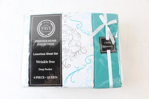 Hotel 5th Ave 6 Piece Queen Sheet Set