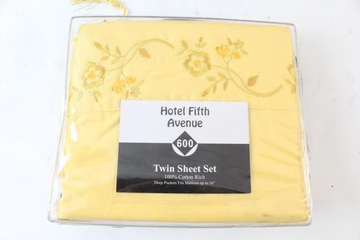Hotel Fifth Avenue Twin Sheet Set