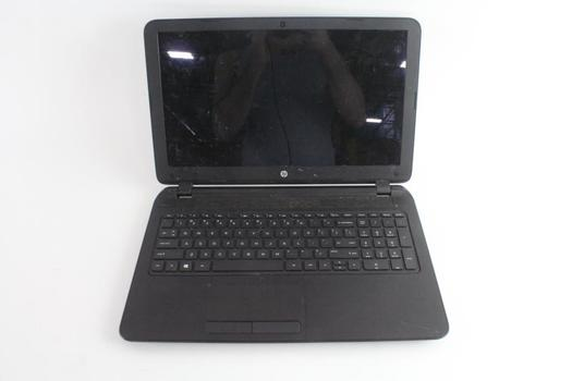 HP 15 Notebook Laptop, Sold For Parts