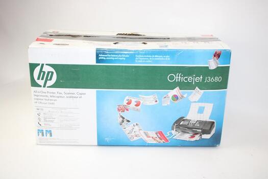 Hp Officejet All-in-one Inkjet Printer Fax Scanner Copier Jet