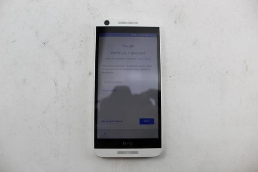 HTC Desire 626S, 8GB, MetroPCS, Google Account Locked, Sold For Parts