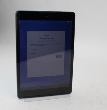 HTC Nexus 9, 16GB, Unknown Carrier, Google Locked, Sold For Parts