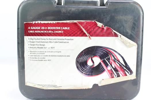 Husky 4 Gauge 20ft Booster Cable