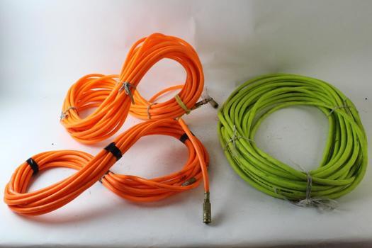 Husky Air Hose And Orange Air Hose, 2 Pieces