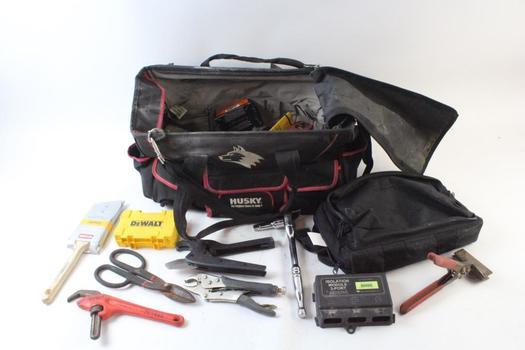 Husky Tool Bag With Tools