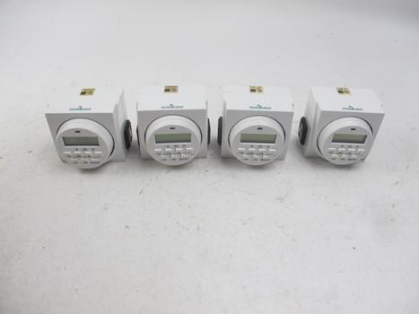 Hydrofarm 7 Day Dual Outlet Digital Timer TM01715D: 4 Items