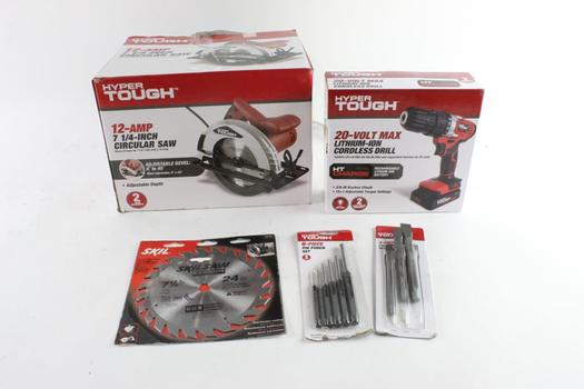 Hyper Tough Power Tool Bulk Lot, 2 Pieces