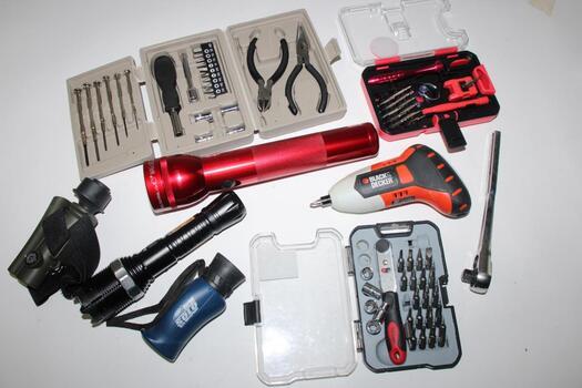 Hyper Tough Socket Bit Set, Tzumi SmartTools And More