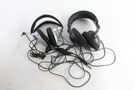 Ibanez Stereo Headphones And More, 2 Pieces