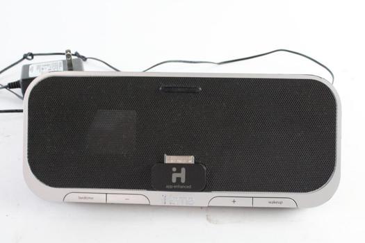 IHome Alarm Clock 30-Pin Dock Radio