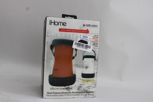 IHome Portable Bluetooth Speaker With Melody Personal Music Assistant