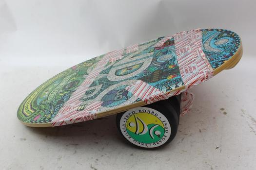 Indo Balance Board And Roller