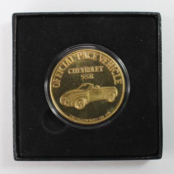 Indy 500 Official Pace Vehicle 2009 Commemorative Coin