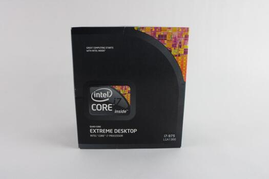 Intel Quad-Core Extreme Desktop Core I7 Processor