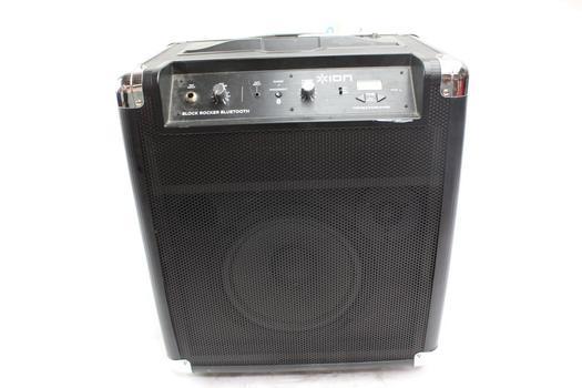 Ion Block Rocker Bluetooth Portable Sound System