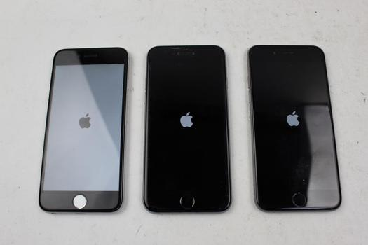 IPhone 6 Lot, 3 Pieces, Sold For Parts