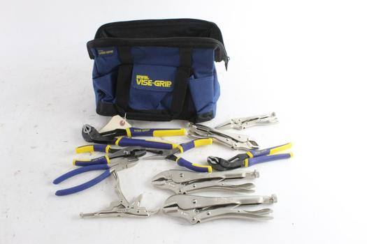 Irwin Tool Bag With Tools, 10+ Pieces