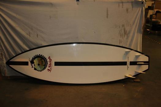 J. Sleigh Pro Series 122L Brusurf Board