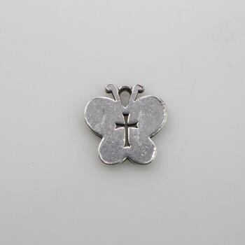 James Avery Sterling Silver Crosslet Butterfly Charm