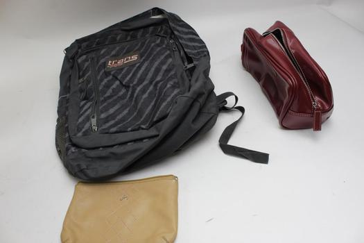 Jansports Trans Backpack, Kappa Alpha Psi Fraternity Bag: 3 Items