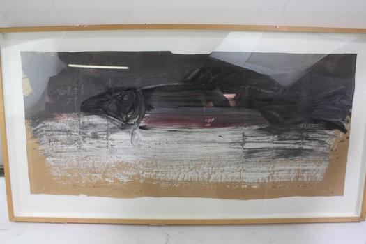 "Jay Steensma ""N.W. Extinction"" Framed Painting"