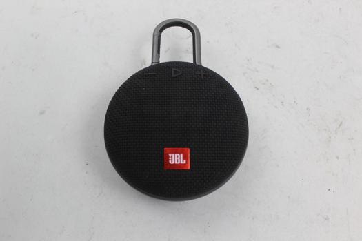 JBL Clip3 Portable Bluetooth Speaker (Black)