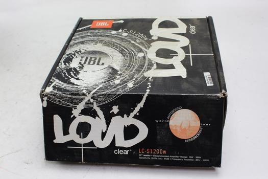 """JBL Loud Clear 12"""" Woofer Speaker"""