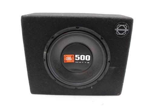 JBL Speaker In Box W/Jensen Amp Attached