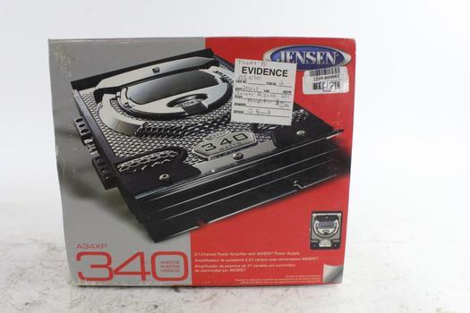 Jensen Amplifier