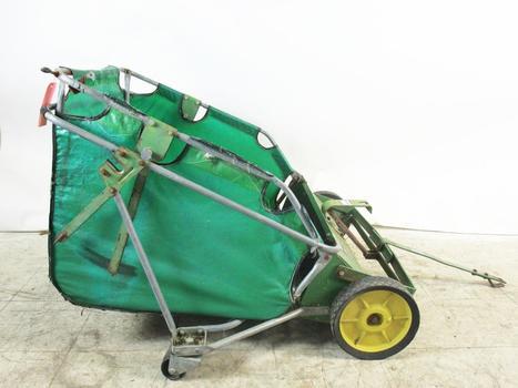 John Deere Lawn Sweeper