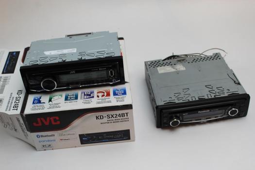 Jvc, Panasonic Car Stereos, 2 Pieces
