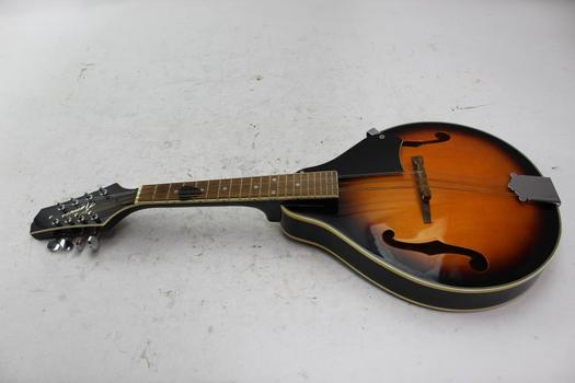 Kansas Sunburst Mandolin With Case