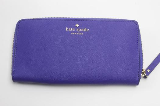 Kate Spade WLRU1689 Lacey Mikas Pond Leather Wallet