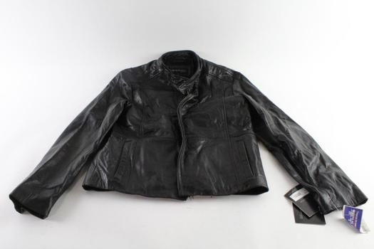 Kenneth Cole Leather Jacket, Size M