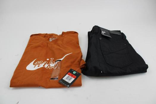 Kenneth Cole Pant & Nike Shirt; 2 Pieces