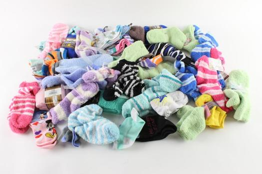 Kenneth Jones For Kids, Power Sox Adult And Kids Sock Lot, 10+ Pairs
