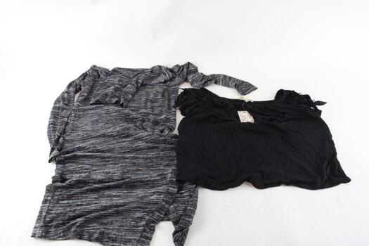 Kensie Turtleneck Dress Size Medium,pink Republic Short Sleeve Black Top Size Medium