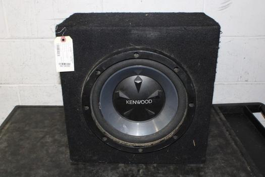 "Kenwood 12"" Boxed Single Speaker"