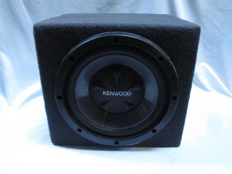 Kenwood Car Speaker And Speaker Box