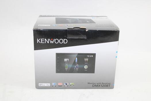 Kenwood Monitor With Receiver And BlueTooth Car Stereo DMX120BT