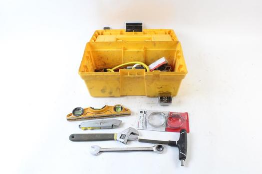 Keter Tool Box With Tools, 10+ Pieces