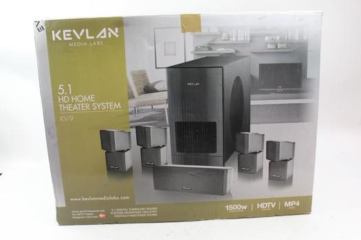 Kevlan Media Labs 5.1 Hd Home Theater System