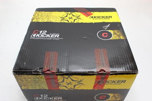 Kicker C12 Comp Subwoofer