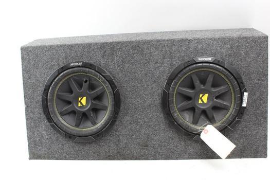 Kicker Car Speaker